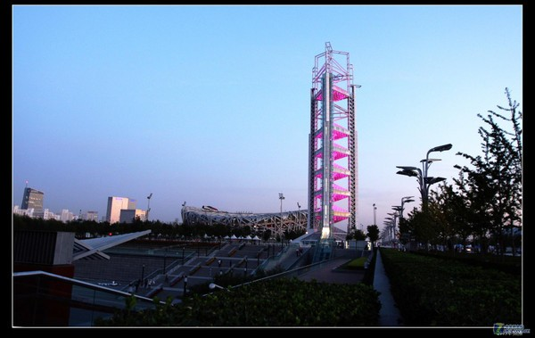 北京奥体中心-玲珑塔