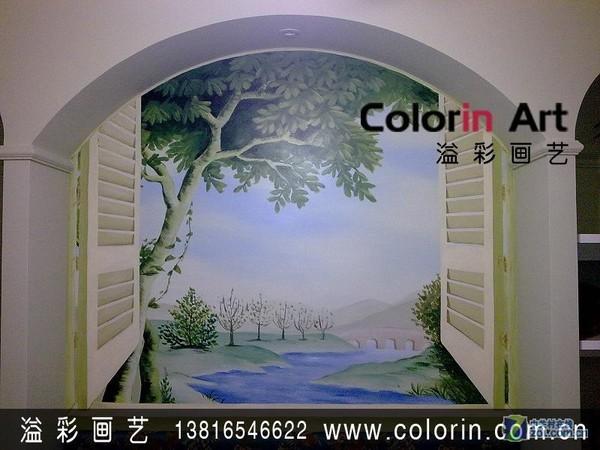 专业制作手绘墙画